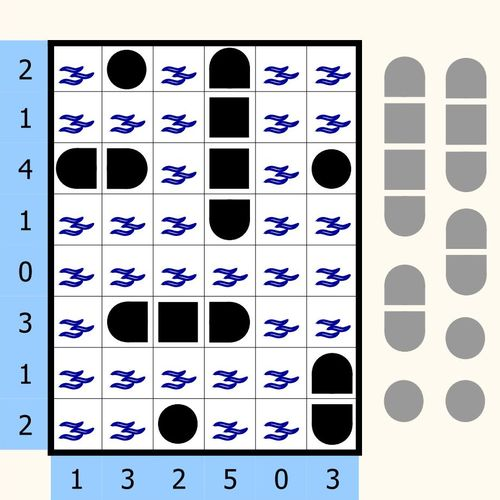 Solution Puzzle Bataille navale